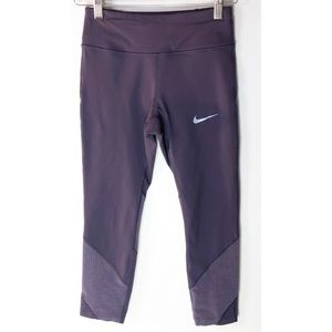 Nike |  Women's Dri-Fit Leggings with mesh detail